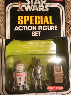Brand new in box Star Wars special action figure set