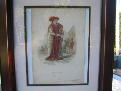 GRAVURE French King FROM 1800 -- FRANCE