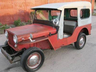 1956 Willys Jeep DJ3A