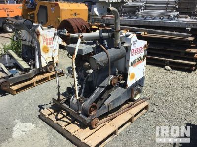 Meco M60D3GFP Walk Behind Saw