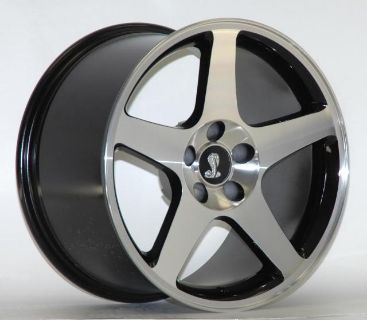 Find AFS 1994-2004 Mustang 03 COBRA MAC BLACK 17 X 9 Wheels Rims 02 01 99 98 97 96 95 motorcycle in Canoga Park, California, US, for US $565.00