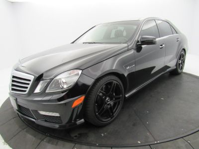 2013 Mercedes-Benz E-Class E63 AMG (Obsidian Black Metallic)