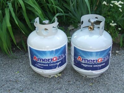 Propane Tanks For BBQ Grill RV Camper Heater Stove