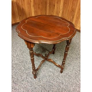 Antique Round End Table from the early 1900's