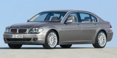 2007 BMW 7-Series 750i (BLACK)