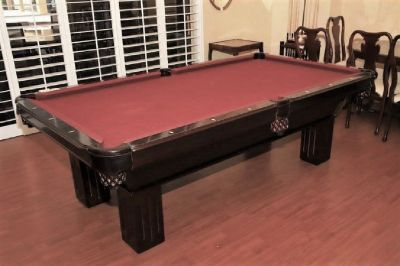 8' Custom Pool Table-FREE DELIVERY and SET-UP INCLUDED!!