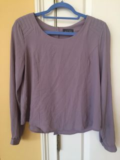 Aster boutique button back top Size Medium (fits small to medium) cute shoulder detail