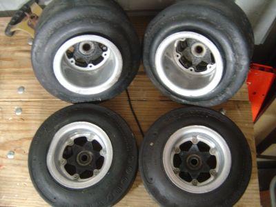 Vintage Margay Kart Wheels