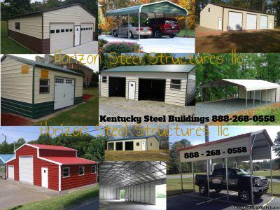 Metal Carports and garages sheds