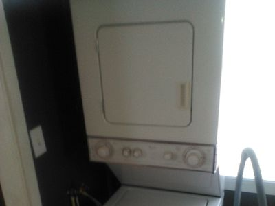 stackable washer dryer 2 months old whirlpool