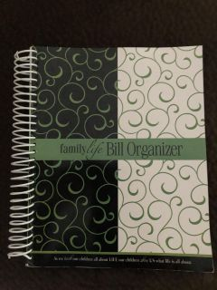 Bill Organizer for the year