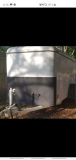 5x10 enclosed trailer,clean title