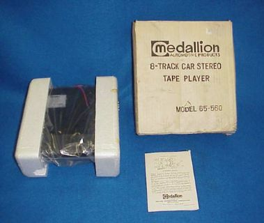 Sell NEW NOS 8 TRACK UNDER DASH CAR STEREO TAPE PLAYER VINTAGE CHEVY FORD DODGE motorcycle in Leo, Indiana, United States, for US $99.00