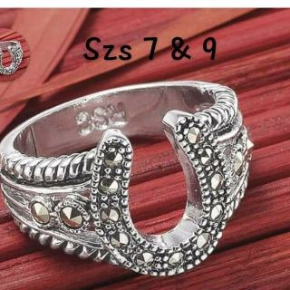 Ladies marcasite ring -szs 7 & 9 only