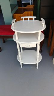 3 Tier Table with Drawer. 16x12x29
