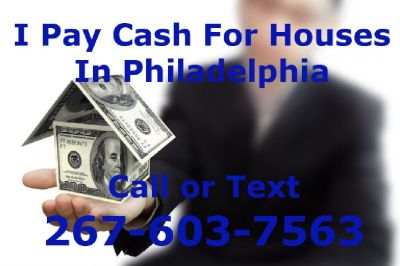 I Buy Houses Cash in PHILADELPHIA/ Tacony 19135