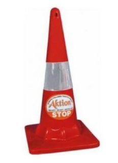 Aktion AK 802 Road Safety Cone With Heavy Base