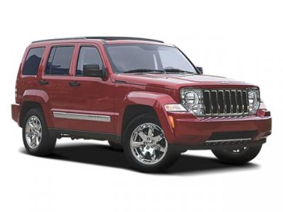 2008 Jeep Liberty Sport (Stone White)