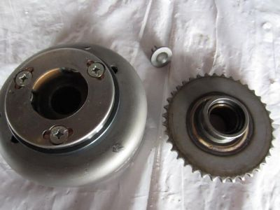 Sell 99 Honda CMX 250 Rebel complete starter clutch flywheel motorcycle in Indianapolis, Indiana, US, for US $109.99