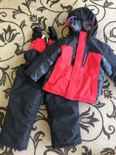 Jacket and snow pants - size 3T