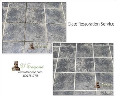 Slate Tile Shower Restoration Service
