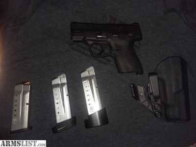 For Sale/Trade: M&P shield 9mm w/extras