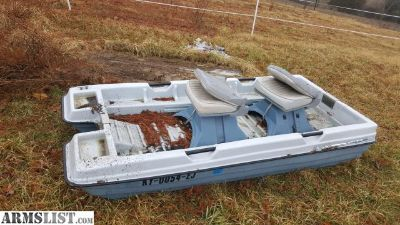For Sale/Trade: Two man Bass Boat