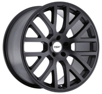 Sell 18x8 TSW Donington 5x112 Rims +42 Matte Black Wheels (Set of 4) motorcycle in Hayward, California, United States, for US $1,120.00