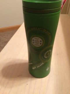 Starbucks hard plastic thermal cup 8 inches