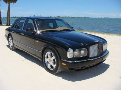 2004 Bentley Arnage R RED LABEL BLACK WITH CHROME WHEELS STUNNING