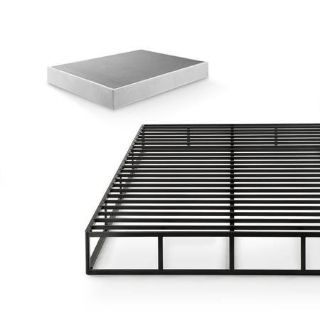 """Zinus High Profile 9"""" Smart Box Spring Easy Assembly Queen Size - New!"""