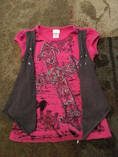 Xhilaration xs pink top & vest - ppu (near old chemstrand & 29) or PU @ the Marcus Pointe Thrift Store (on W st)