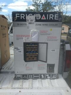 38 wine cooler two zone