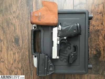 For Sale: Sig Sauer P238 (.380) w/ SIGLIGHT night sights & laser trigger guard