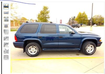Paul Rydell 1 hr Dodge Durango (Cash or trade) $4,500 Spirit Lake, IA  02 Durango 4x4 with only 129k