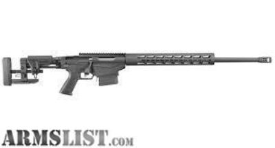 For Sale: Ruger Precision Rifle 6mm Creedmoor