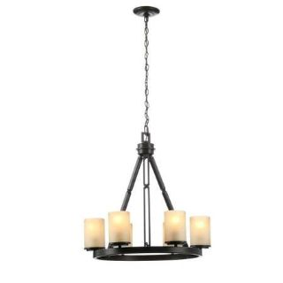 Alta Loma 6-Light Bronze Dark Ridge Chandelier