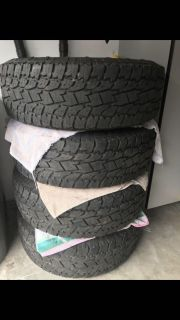 Open country all terrain tires Ford F-150