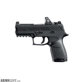 For Sale: SIG SAUER P320 COMPACT 9MM MINI REFLEX SGHT