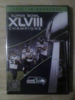 *** SEATTLE SEAHAWKS SUPER BOWL XLVIII CHAMPIONS DVD (New Sealed) ***