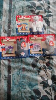 Limited addotion Americas Beanie babies