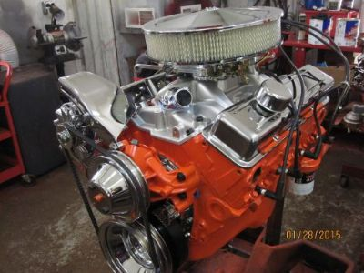 Sell 350 383 STROKER ENGINE COMPLETE CHEVROLET CAMARO CORVETTE NOVA CHEVELLE motorcycle in McKeesport, Pennsylvania, United States, for US $3,200.00