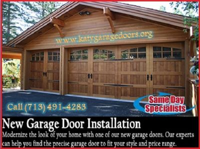 24*7 Garage Door Repair & Installation Services $25.95 Katy | TX | 77450