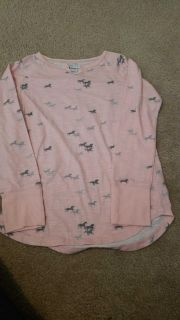 Tractr size 10/12 long sleeve horse shirt. Porch pickup