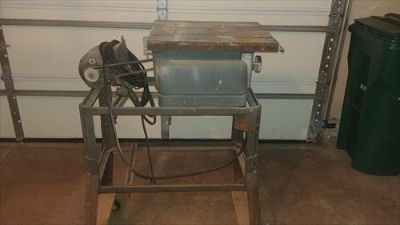 Vintage table saw model 103.23834