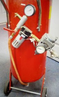 Central Pneumatic Pressure Blasting System Priced to Sell