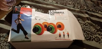 Danskin 4 in 1 Dumbbell Set $15