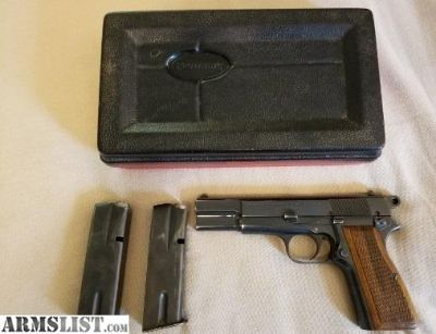 For Sale: 1964 Browning Hi Power w rare box!