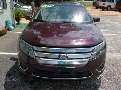 2011 Ford Fusion SEL (Burgundy)