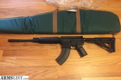 For Sale: AR-47 MOE stock/grip (AR-15 style rifle in 7.62x39mm) Anderson AR47 AR15 w/30+1 round magazine, AK47 ammo in an AR15 New in soft case.
